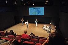 Medidas de control de aforo, al 33%, en una conferencia performativa en el Instituto del Teatro de Barcelona