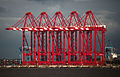 Megamax quayside cranes - River Mersey - North West England.jpg