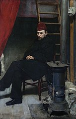Portrait of sculptor Konstanty Laszczka.