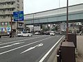 Meiji-dori Road and Fukuoka Expressway Circle Route near Atago Crossroads.jpg