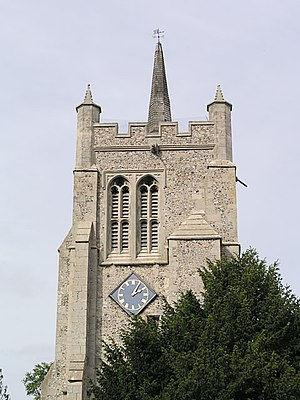 Melbourn - Image: Melbourn, All Saints geograph.org.uk 2955
