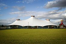 Melbourne Showgrounds Grand Pavilion by day.jpg