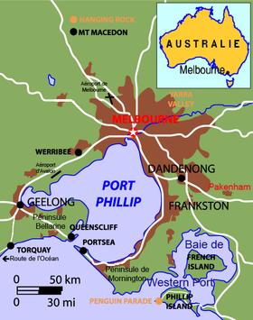 Port Phillip City  Letter Word