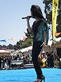 Melissa Reyes performing at 14th AF-AFC 01.JPG