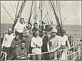 Members of the scientific expedition on board the Discovery arriving in Adelaide, South Australia, 1930.jpg