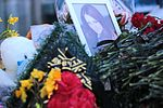Memorial at Rostov-on-Don Airport for victims of Flydubai Flight 981 (2).jpg
