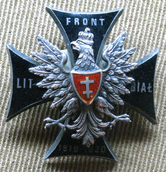 Memorial badge of the Lithuanian-Belarussian Front (Polish-Soviet War).PNG