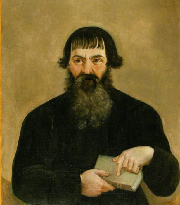 Merchant Sytov by anonymous (Rybinsk museum, mid. 19 c.)