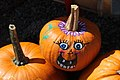 Mering, painted pumpkins and squashes 002.JPG
