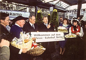 Spandau Suburban Line - Reopening of the Westkreuz-Pichelsberg section on 16 January 1998