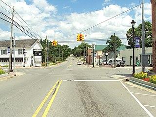 Metamora Crossroads Historic District United States historic place