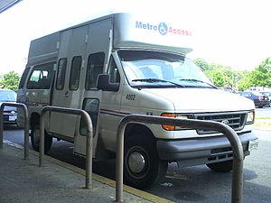 MetroAccess - A MetroAccess Paratransit Vehicle