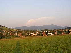 Metylovice, view from north-west