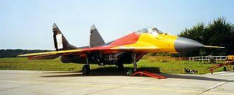 Taktisches Luftwaffengeschwader 73 - Image: Mi G 29 SRG