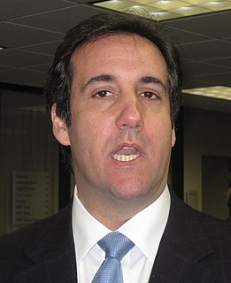 Michael Cohen (lawyer) American former attorney