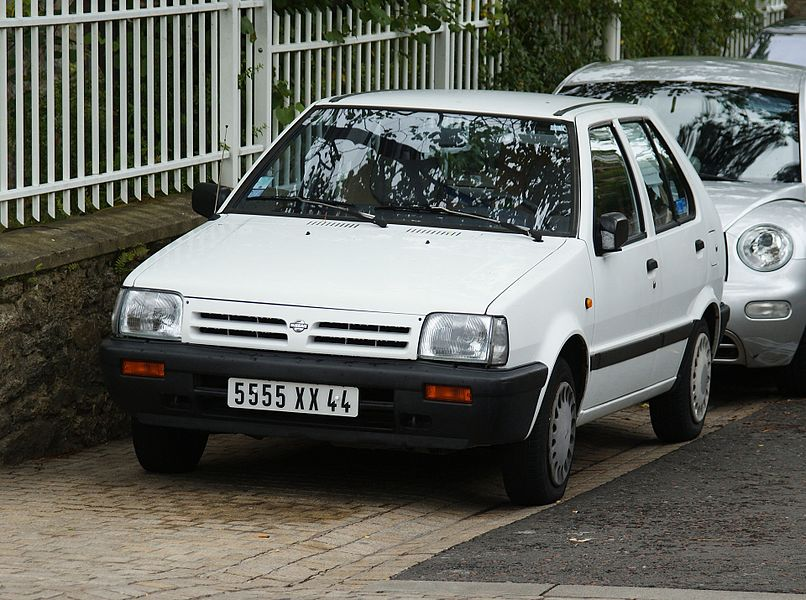 Nissan Micra five door
