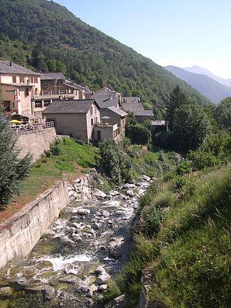 Mijanès - The Bruyante river at Mijanès