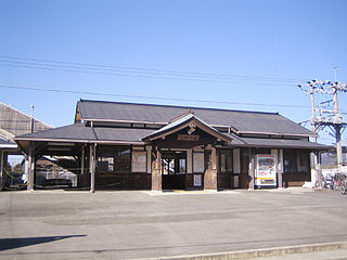 Mikawa-Ichinomiya Station Railway station in Toyokawa, Aichi Prefecture, Japan