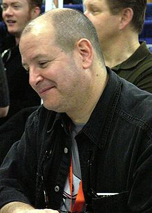 Mike Mignola at WonderCon 2009.JPG