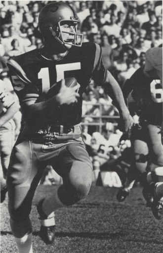 Mike Phipps - Phipps from 1969 Purdue yearbook