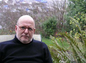 Michael Gruber (author) - Michael Gruber in his garden in Seattle, Washington