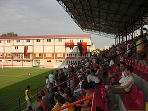 FK Milano Kumanovo - Milano Arena, home stadium of the club