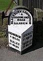 Milestone on Keighley Road - geograph.org.uk - 546988.jpg