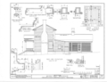 Milton T. Holt House, Old Military Road, Washington, Hempstead County, AR HABS ARK,29- ,1- (sheet 3 of 6).png