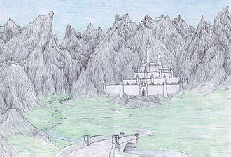 Minas Morgul - Artist´s depiction of Minas Ithil