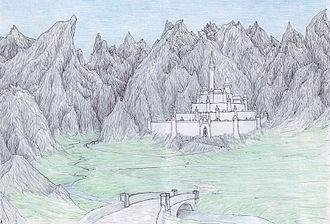 Minas Morgul - Artist´s depiction of Minas Ithil