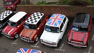 Mini - The mini became an icon of 1960s British popular culture, and featured in the 1969 caper film The Italian Job