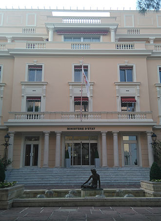 Minister of State (Monaco) - Official residence of Minister of State