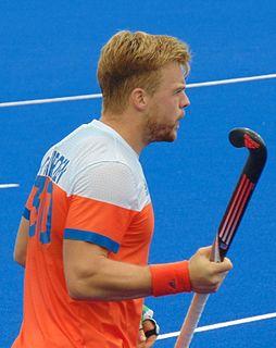 Mink van der Weerden Dutch field hockey player