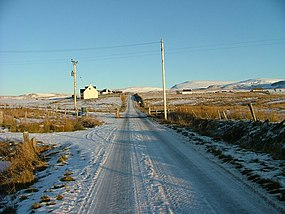 Minor road at Kilvaxter - geograph.org.uk - 1654422.jpg