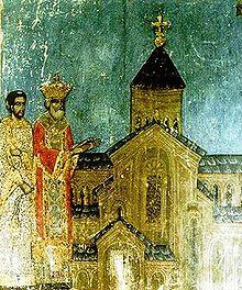 El rey de Iberia Mirian III