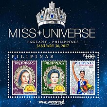 Miss Universe 2017 stampsheet of the Philippines.jpg
