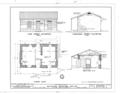 Mission Printing Office, King and Kawaiahao Streets, Honolulu, Honolulu County, HI HABS HI,2-HONLU,20- (sheet 2 of 3).png