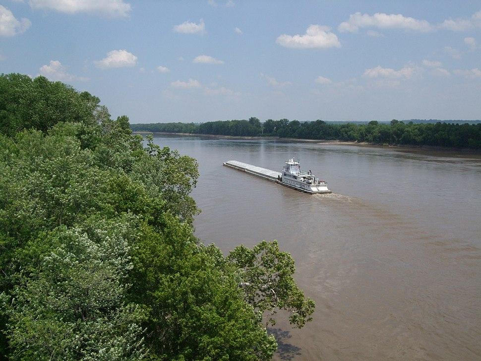 Missouri river at hwy 364