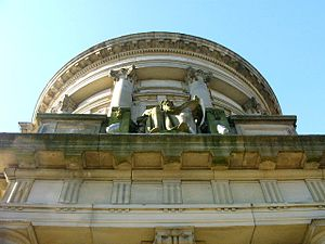 Mitchell Library - Image: Mitchell Library entrance looking up