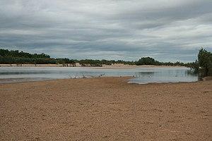 Mitchell River (Queensland) - Mitchell River at Koolatah-Dunbar Crossing
