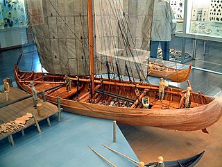 type of Norse merchant ship used by the Vikings