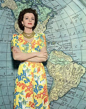 """Mona Maris - Described by Life as """"a living testament to the Good Neighbor Policy"""", Maris resumed her Hollywood career in 1941 with the film Flight from Destiny, and she informally advised studios on authenticity in films marketed to South America."""