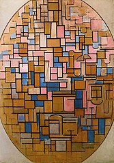 Tableau III: Oval Composition