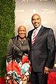Monica Pearson and John Pearson at the 75th Annual Peabody Awards.jpg