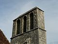 Montagnac-d'Auberoche église clocher-mur.JPG