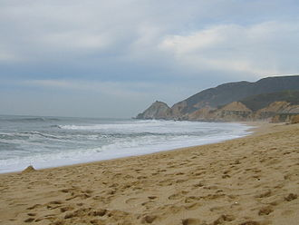 Montara, California - Montara State Beach in Montara