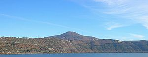 Alban Hills - Monte Cavo (the Alban Mount) and Alban Lake