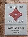 Montfrin Eglise Notre Dame de Malpas Gard - 4..jpg