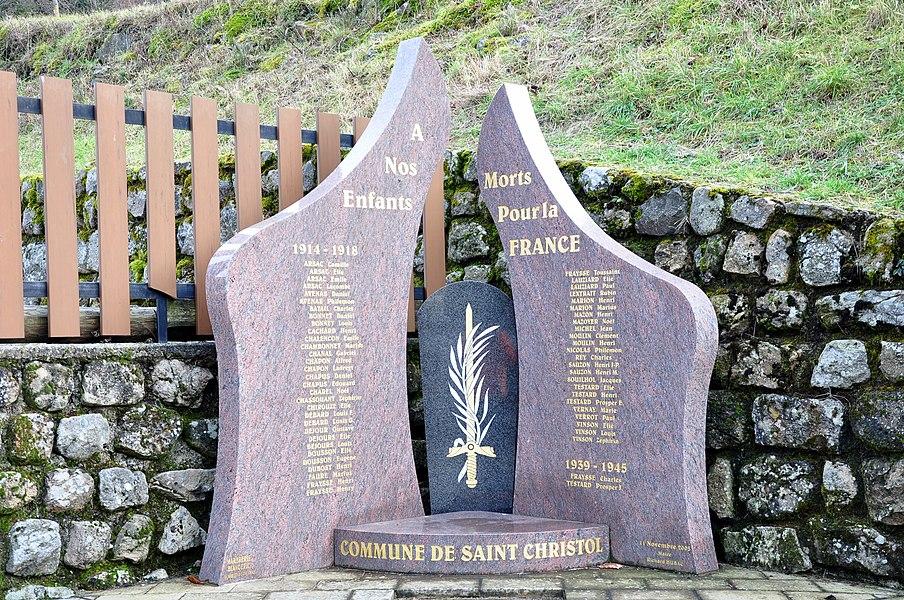 Monument aux morts de Saint-Christol.