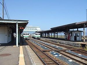 Mori Station (Hokkaido) - Image: Mori Station